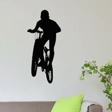 Shop Bmx Mountain Biking Sport Vinyl Wall Art Decal Sticker Overstock 10792965