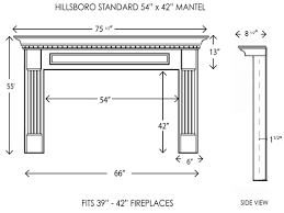 wood fireplace mantels fireplace