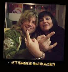 Steven with Adriana Smith ( Rocket Queen )