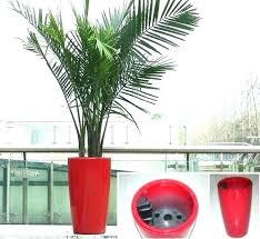 plant pots silver mini rustic garden