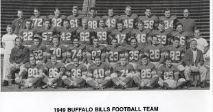 Bill's Update Blog: 1949 Buffalo Bills