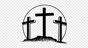 The Three Crosses Bumper Sticker Decal Car Crucifixion Christianity Sticker Png Pngegg