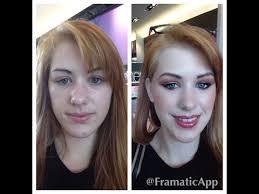 prom makeup done at sephora