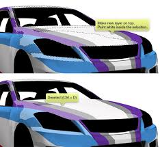 Draw A Rally Car Using Simple Brush Techniques In Photoshop
