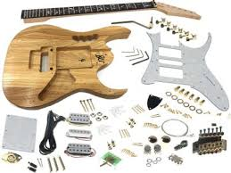 diy electric guitar kits build your