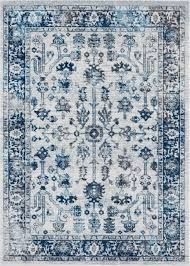 white and blue rug freaking awesome