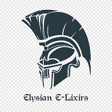 Elysian E Lixirs Logo Motorcycle Helmets Sparta Decal Sticker Spartan Label Trademark Png Pngegg