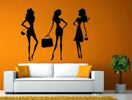 Fashion Shopping Style Woman Female Girl Dressing Design Swag Getup Wall Window Sticker Decal Vinyl Silhouette Decor Huge Wall Stickers In This Home Wall Decal From Joystickers 11 04 Dhgate Com