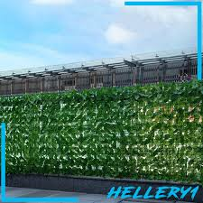 Simulation Ivy Fence Screen Plant Vine Leaf Decoration Outdoor Garden Yard Shopee Philippines