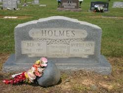 Myrtle Ann Holmes (1913-1995) - Find A Grave Memorial
