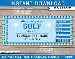 tickets gift voucher template