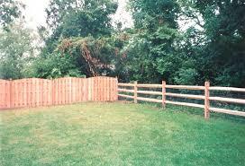 Wood Fence Queen City Fence Contractors Backyard Fences Brick Fence Fence Design