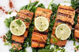 Marinated Grilled Salmon - A Healthy ...