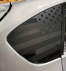 American Flag Side Window Decal For 08 14 Wrx Sti Hatch Rakkasan Motorsports