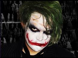 the joker dark knight makeup