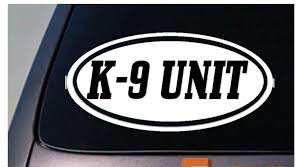 2020 Car Styling For K9 Unit Sticker Decal Police Decal Window Decal Sticker Car Sticker From Redchinatown 1 01 Dhgate Com