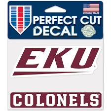 Eastern Kentucky University Decals License Plate Colonels Auto Accessories Shop Cbssports Com