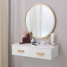 nordic wall vanity mirror bedroom small