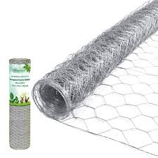 2 Inch Hexagonal Poultry Netting Galvanized Chicken Wire Mesh Fence 20gauge Large Frame With Chicken Netting Wire Rabbits Pets Dog Cat Vegetable Garden Fencing Backyard Raised Flower Bed 36inchx50ft Amazon In Garden