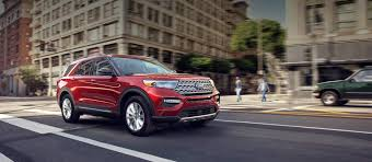 2020 ford explorer suv new and