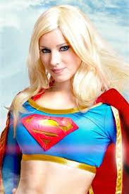 beautiful superwoman blonde