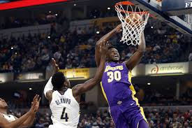 Lakers drop third straight with 110-100 loss to Pacers - Silver ...