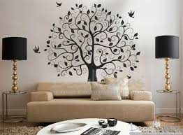 Tree Wall Decal For Living Room Peel And Stick Custom Wall Decals Decalideas Wall Decals