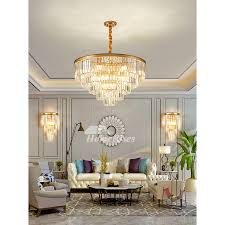 crystal pendant lights classic luxury