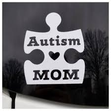 Permanent Autism Mom Car Window Decal Sticker Autism Etsy