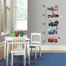 Roommates Disney Pixar Cars Peel And Stick Metric Growth Chart Wall Decals Bed Bath Beyond