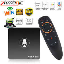 Google TV Box A95X Pro Android 7.1 TV ...