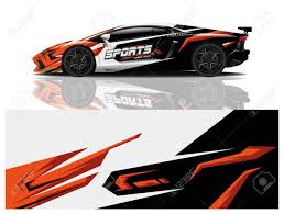 Sport Car Decal Wrap Design Vector Sport Car Decal Wrap Design Royalty Free Cliparts Vectors And Stock Illustration Image 140237285