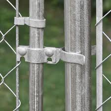 Galvanized Chain Link Fence Fork Latch Kit At Menards