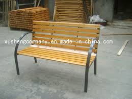 cast iron wood garden bench park chairs