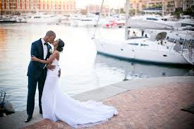 elegant waterfront wedding at the one