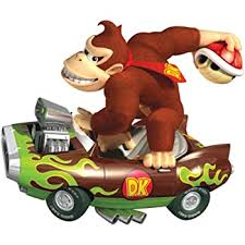 Amazon Com 6 Inch Dk Donkey Kong Super Mario Kart Wii Bros Brothers Removable Wall Decal Sticker Art Nintendo 64 Snes Home Kids Room Decor Decoration 6 By 5 Inches Home Kitchen