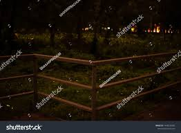 Metal Fence Blur Background Nature Firefly Nature Stock Image 1448233589