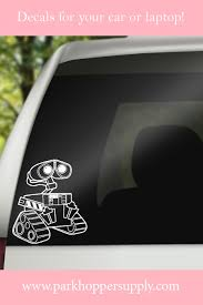 Wall E Car Decal Decals Disney Home Decor Car Decals