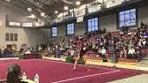 TWU Gymnastics vs. USAF, SEMO, CC 1-24-16 - YouTube