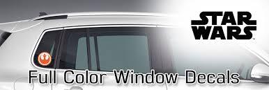 Rebel Alliance Window Decal Fanwraps