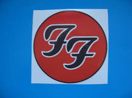 Foo Fighters Car Bumper Sticker Stickerbomb Bomb Decal Electric Guitar Bass Etc X 1