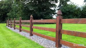 Timber Fencing Ireland Garden Fencing Ireland Timber Fence