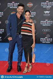 Frank Grillo & Wendy Moniz editorial stock photo. Image of couple -  171835973