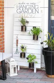 vertical hanging kitchen garden home