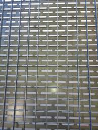 Fabricated Custom Lattice Style Architectural Fence Panels With Perforated Backing Richmond Virginia