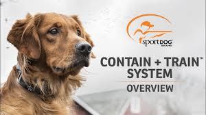 Contain Train Trade System Sportdog