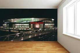 Arsenal Football Club Emirates Stadium Outside Lights Wall Mural Sticker Print