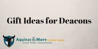 gift ideas for deacons