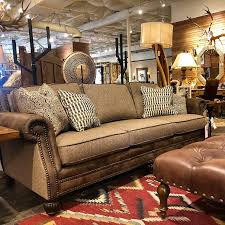 1 2 fabric and leather sofa at