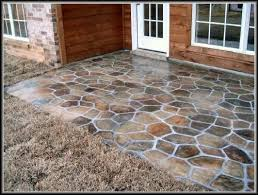 paint ideas painted concrete patio